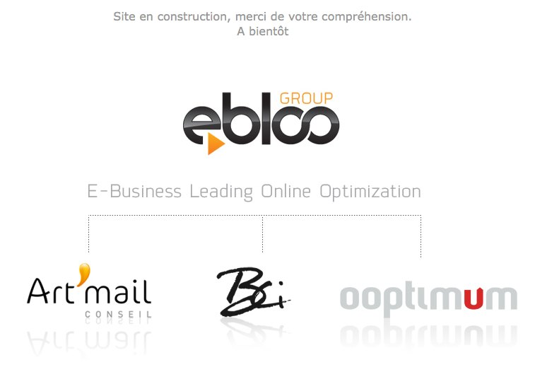ebloo GROUP - Art'mail CONSEIL, BCI, OOptimum