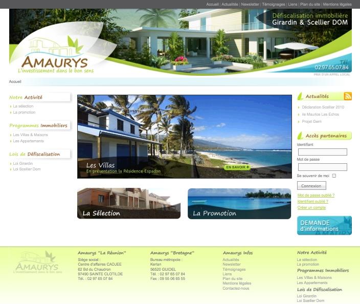 Site Web Amaurys.com