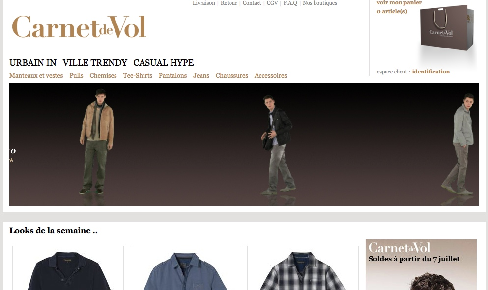e-boutique Carnet de Vol