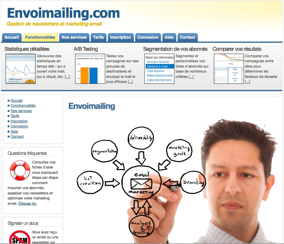 Plateforme gestion/routage e-mailing & newsletter