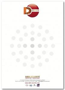 Papier en-tête Logo DMH Sécurité 2011