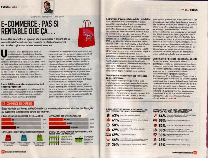 Interview Didier Calloc'h - Mag. Dynamique Entrepreuneriale